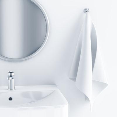 תוסף למראה להפגת האדים בזמן המקלחת