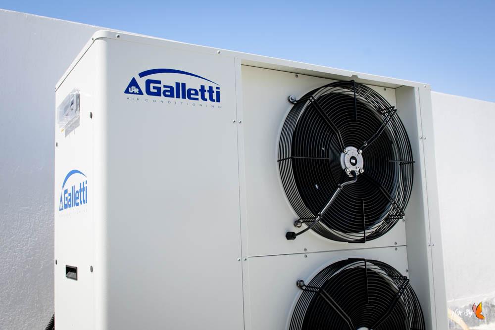 משאבת חום של גאלטי, מוצבת בגג הבית- מעלות מערכות חימום