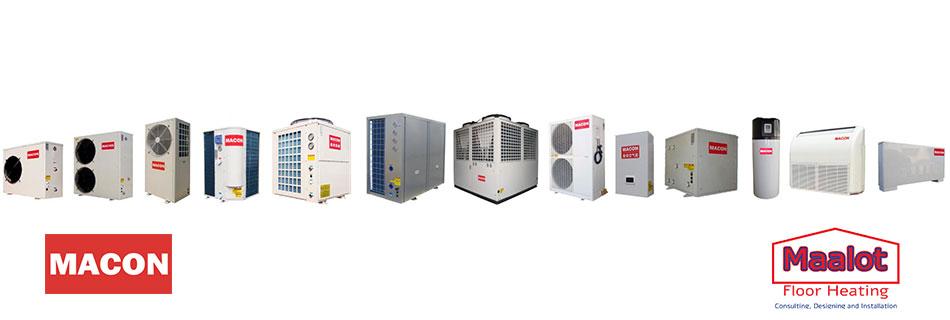 macon משאבות חום, יבוא והתקנה של מעלות מערכות חימום