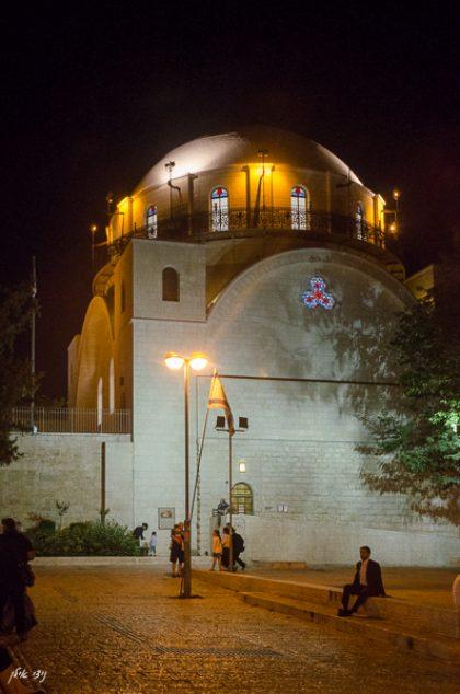 01פרויקט בית כנסת החורבה ירושלים