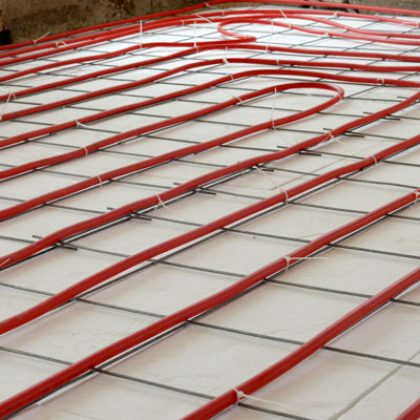 Water/Heat Pump Under floor Heating System