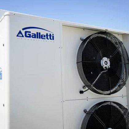 מעלות יבואני משאבות חום Galletti מאיטליה
